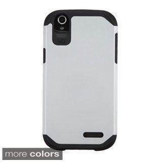 INSTEN Dual Layer Hybrid Rubberized Hard PC Plastic PC/ Silicone Phone Case Cover For ZTE Grand X