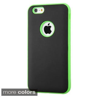 INSTEN Verge Dual Layer Hybrid Rubberized Hard PC/ Silicone Phone Case Cover For Apple iPhone 6 Plus/ 6+ 5.5-inch