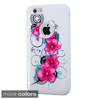 INSTEN Dual Layer Hybrid Rubberized Hard PC/ Silicone Phone Case Cover For Apple iPhone 6 Plus/ 6+ 5.5-inch