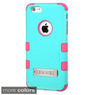 INSTEN Dual Layer Hybrid Stand Rubberized Hard PC/ Silicone Phone Case Cover For Apple iPhone 6 Plus/ 6+ 5.5-inch