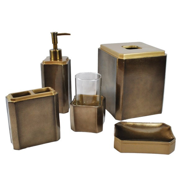 Sherry Kline Essex 5 Piece Bath Accessory Set 16852026 Overstock