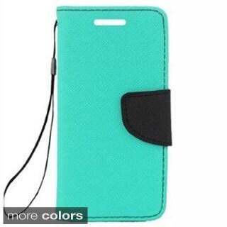 INSTEN Premium Stand Folio Flip Leather Wallet Phone Case Cover For HTC Desire 610/ 612