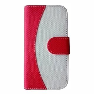 INSTEN Premium Curve Line Folio Flip Leather Phone Case Cover For Apple iPhone 6 4.7-inch