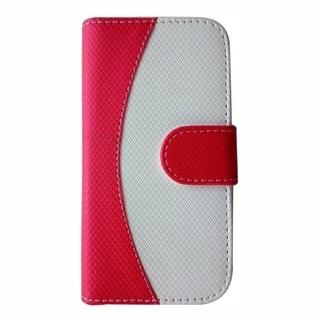 INSTEN Premium Curve Line Folio Flip Ultra Slim Thin Leather Phone Case Cover For Samsung Galaxy Avant
