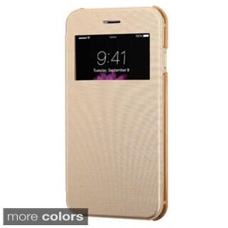 INSTEN Premium Folio Flip Leather Phone Case Cover For Apple iPhone 6 4.7-inch