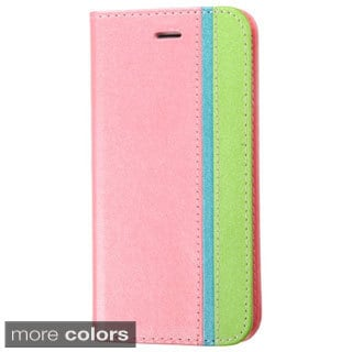 INSTEN Stand Folio Flip Leather Wallet Phone Case Cover For Apple iPhone 6 Plus/ 6+ 5.5-inch