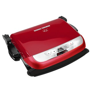 George Foreman GRP4842R 2-in-1 Ceramic Plates Evolve Grill
