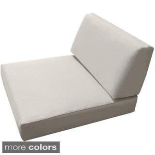 Sunbrella Universal Wicker Armless Chair Cushion