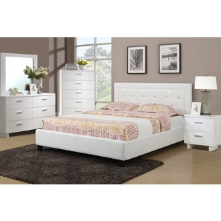 Podolinec 4-piece Bedroom Set with Matching Nightstand, Mirror and Dresser