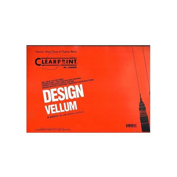 Clearprint Design Vellum Pad