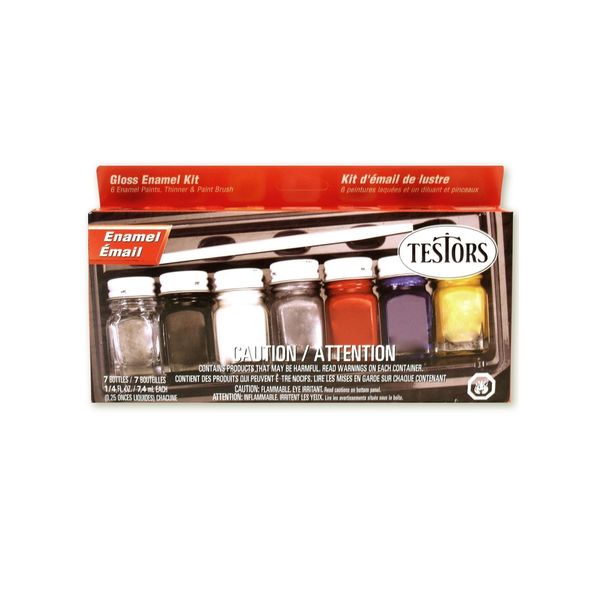 Testors Gloss Enamel Kit (Pack of 2) 14462043