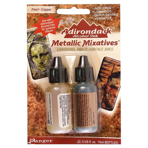 Ranger Adirondack Metallic Mixatives (Pack of 2)