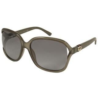 Gucci Women's GG3646S Rectangular Sunglasses