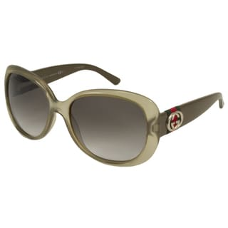 Gucci Women's GG3644S Rectangular Sunglasses