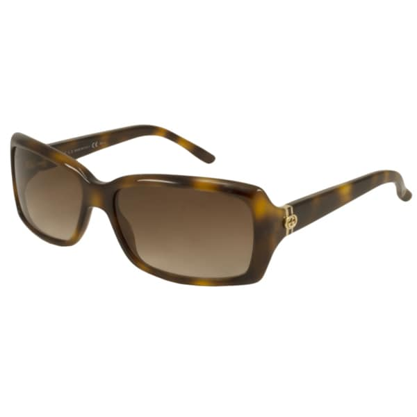 Gucci Women's GG3590S Rectangular Sunglasses
