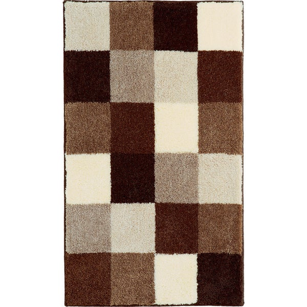 Grund America Bona Brown Check Rug