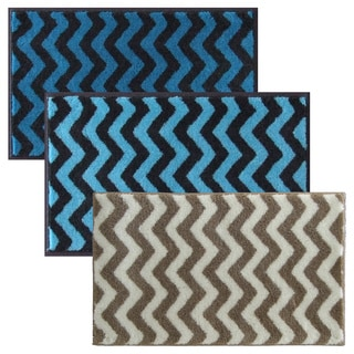 Chevron Series Non-slip Bath Rug