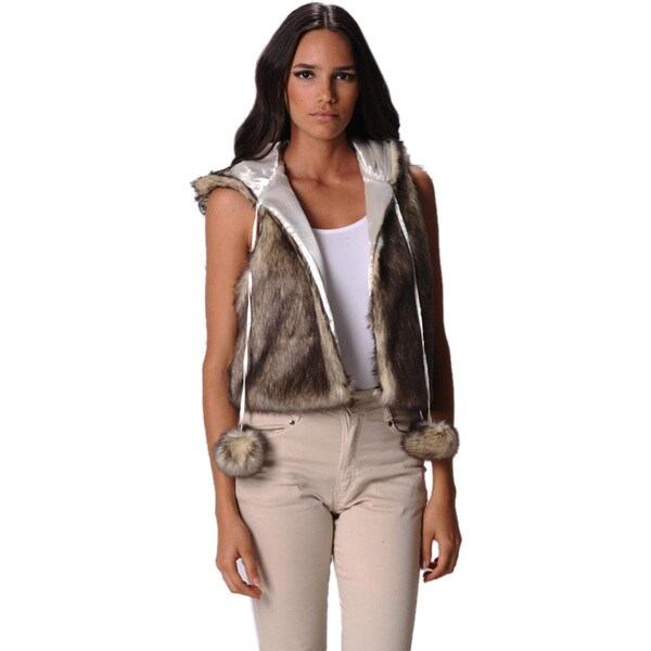 Sara Boo Women's Faux Fur Coat