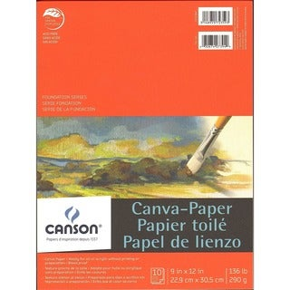 Canson Foundation Canva-Paper Pad (Pack of 2)