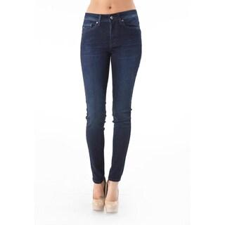 Women's Dark Indigo Skinny Jeans