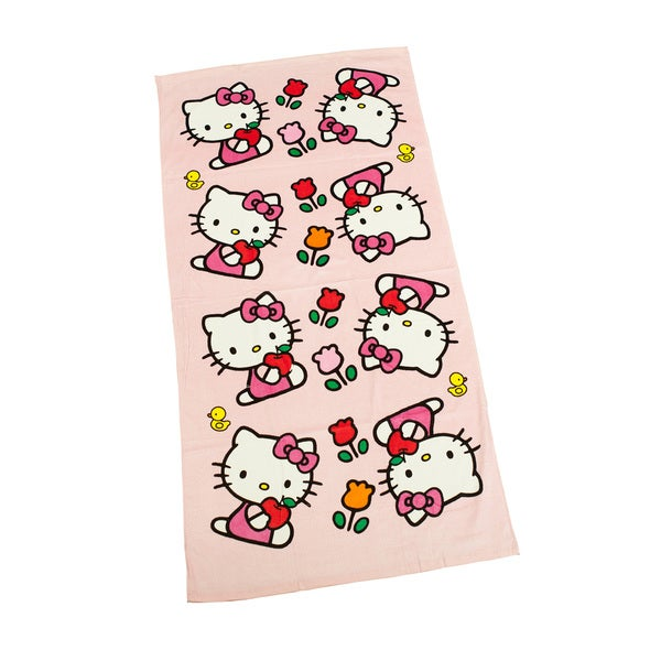 Hello Kitty Sports Towel (2.5' x 5')