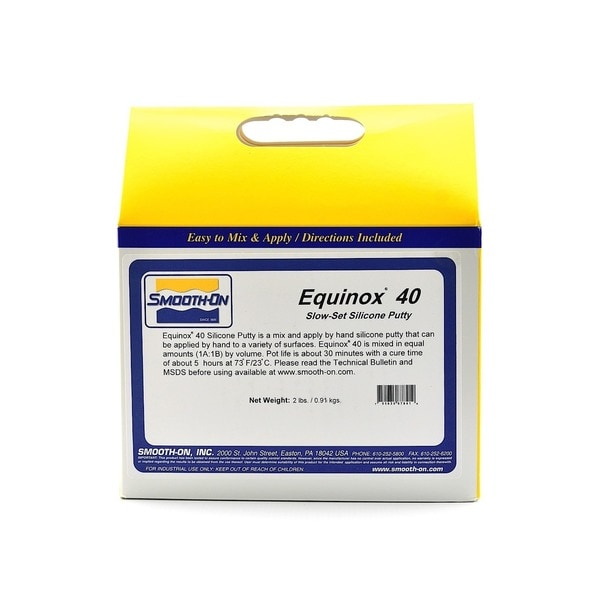 Smooth-On Equinox Slow Silicone Putty Kit