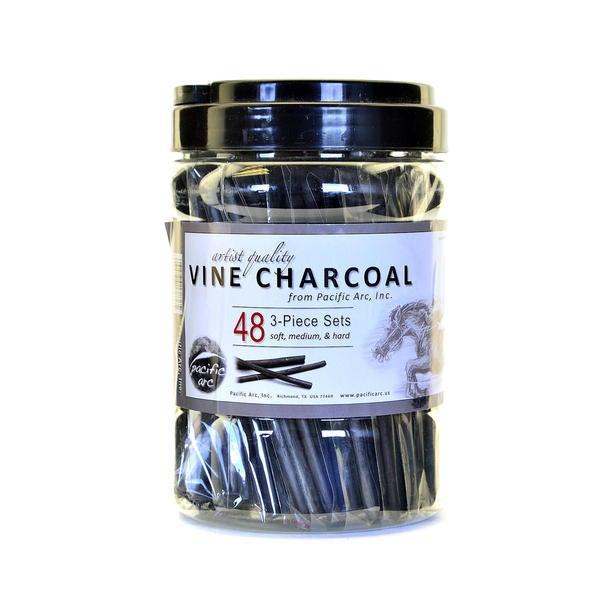 Pacific Arc Vine Charcoal 3-Piece Sets