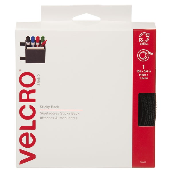 Velcro Sticky Back Hook & Loop Fastener