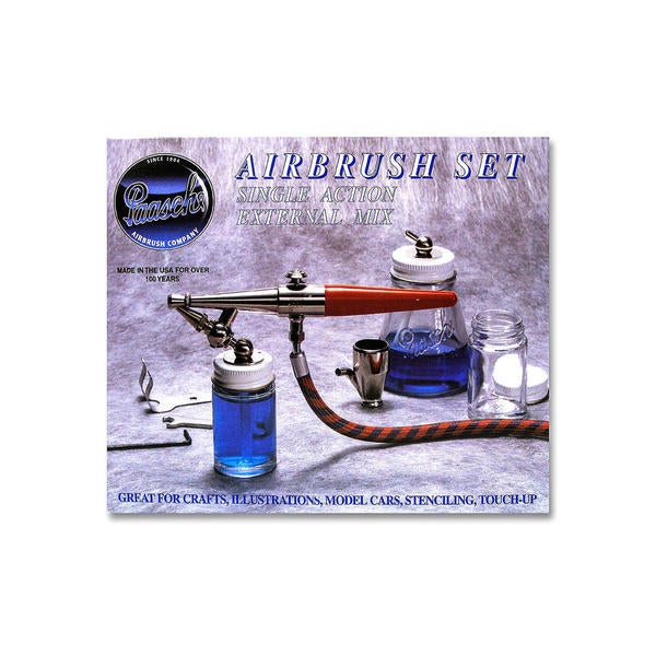 Paasche Model H (Hobby) Airbrush Set