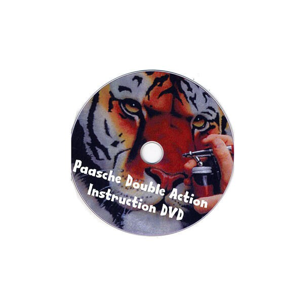 Paasche Airbrushing with the VL - DVD