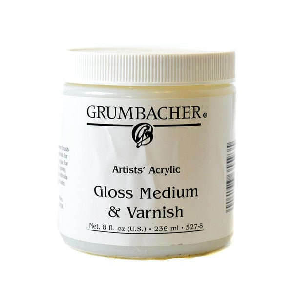 Grumbacher Acrylic Gloss Medium & Varnish