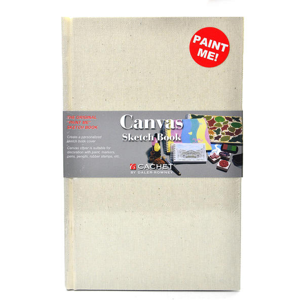 Cachet Canvas Sketch Book