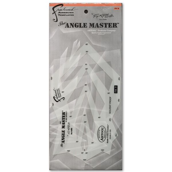 Artool The Angle Master Freehand Airbrush Template