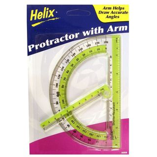 Helix Protractor with Swing Arm