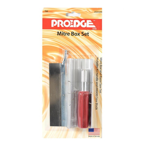 ProEdge Mitre Box Set
