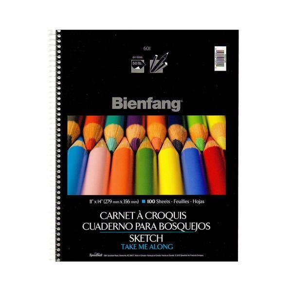 Bienfang 601SD Take Me Along Sketch Pad (Pack of 2)