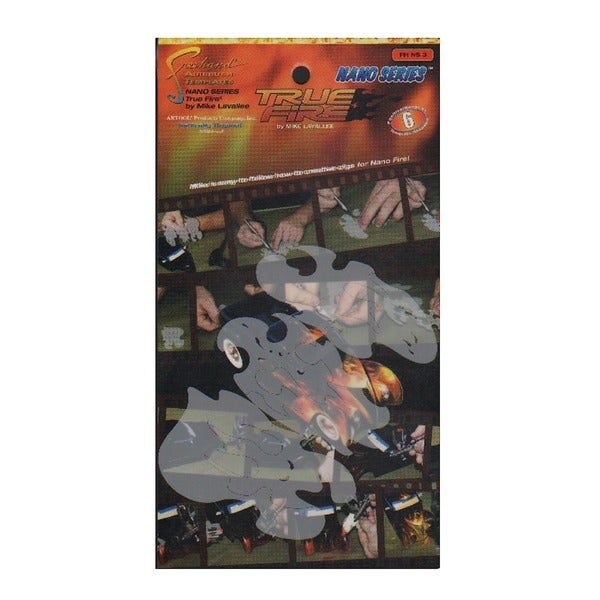Artool True Fire Nano Series Freehand Airbrush Templates by Mike Lavallee