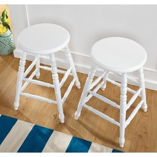 Simple Living Emmet 24 inch Dining Stool (Set of 2)