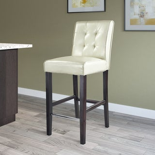 CorLiving Antonio Bonded Leather Bar Height Bar Stool