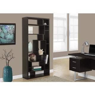 Cappuccino Hollow Core 72-inch Bookcase