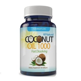 Organic Virgin Coconut Oil Softgels (60 Count)
