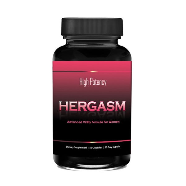 Totally Products Hergasm-Advanced Female Libido Virility Enhancement (60 Capsules)