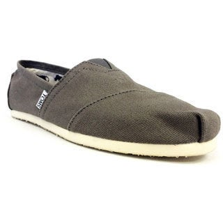 TOMS Unisex Grey Canvas Shoes