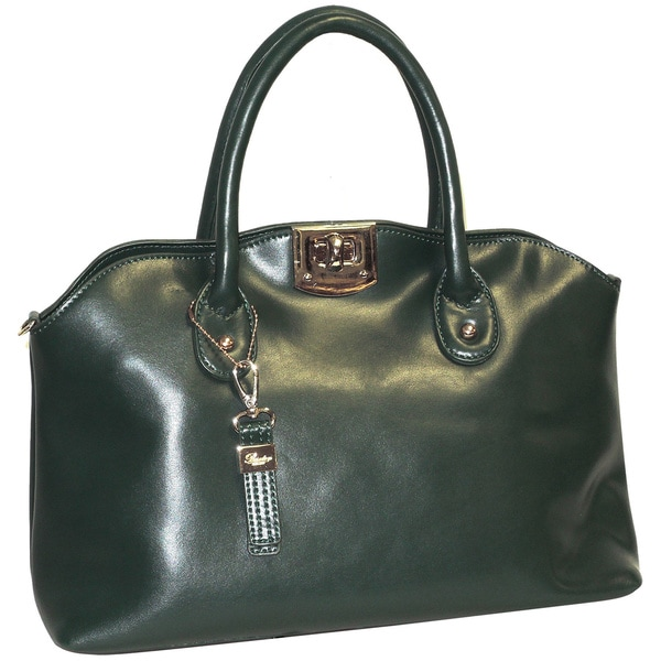 Buxton Caitlin Leather Satchel