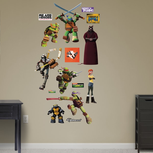 Fathead Teenage Mutant Ninja Turtles Heroes Wall Decals