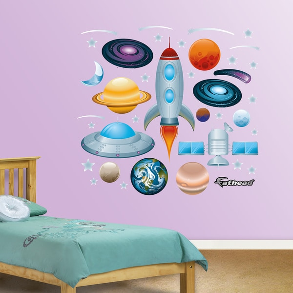 Fathead Outer Space Collection Wall Decals