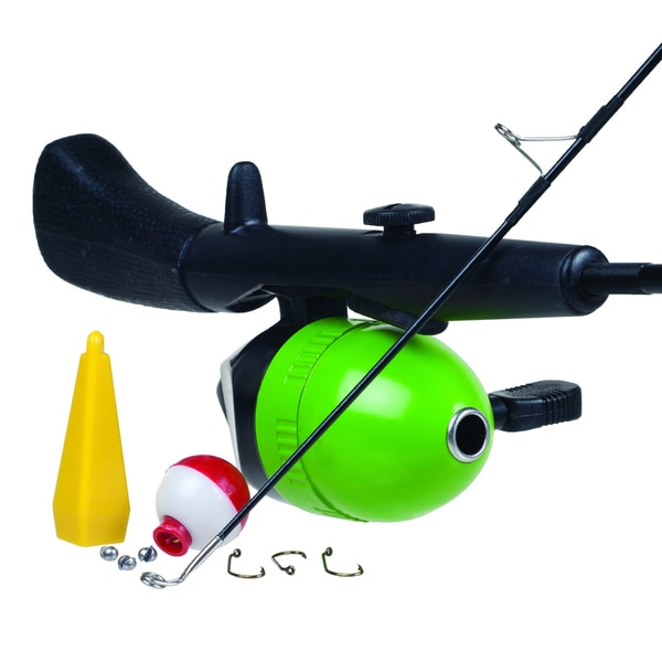Gone fishing 2 piece children 39 s rod and spincast reel combo for Best fishing rod for kids