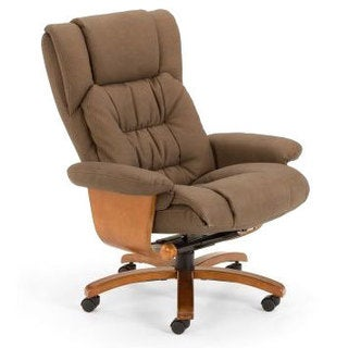 Vinci Stone Nubuck Bonded Leather Office Chair