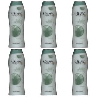 Olay Body Fresh Reviving with Ginseng 23.6-ounce Body Wash (Pack of 6)