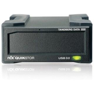 Tandberg Data RDX QuikStor 8782-RDX Drive Dock External - Black